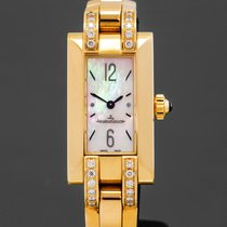 Jaeger-LeCoultre pre-owned Quartz 17mm Mother of pearl Sapphire crystal 3 ATM
