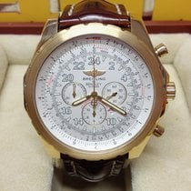 Breitling Bentley Le Mans Yellow gold 48.7mm White Arabic numerals