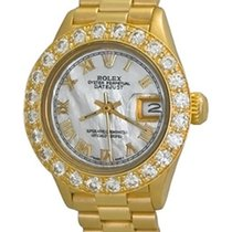 Rolex Lady-Datejust Yellow gold 2.2mm Mother of pearl Roman numerals United States of America, Texas, Dallas