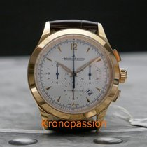Jaeger-LeCoultre Master Chronograph Rose gold 40mm Silver No numerals United States of America, Florida, Boca Raton