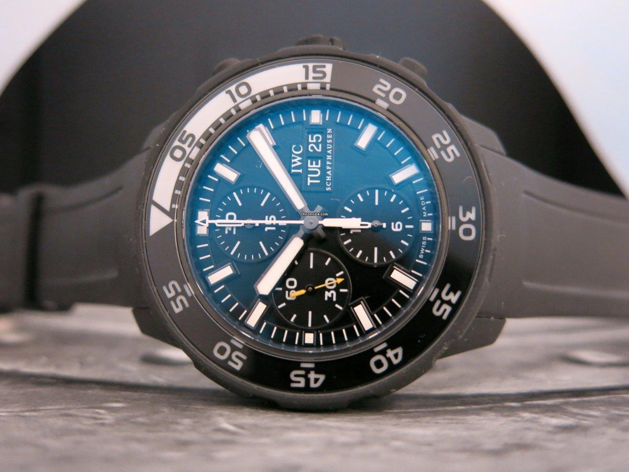 IWC Aquatimer Chronograph IW376705 2014 new