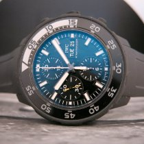 IWC Aquatimer Chronograph nuevo 2014 Automático Cronógrafo Reloj con estuche y documentos originales IW376705