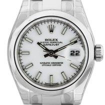 Rolex tweedehands Automatisch 26mm Wit