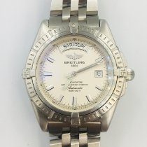 Breitling Headwind Acero 42mm Blanco Sin cifras