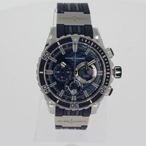 Ulysse Nardin Diver Chronograph neu 2020 Automatik Chronograph Uhr mit Original-Box und Original-Papieren 1503-151-3/93