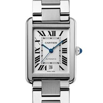 Cartier W5200028 Steel Tank Solo 31mm new United States of America, California, Newport Beach
