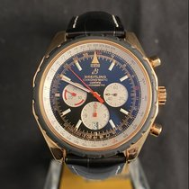 Breitling Chrono-Matic 49 Rose gold 49mm Black No numerals