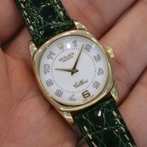 Rolex Cellini Danaos Oro amarillo 24.5mm Blanco