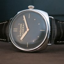 Panerai Platinum Manual winding Brown No numerals 47mm new Special Editions
