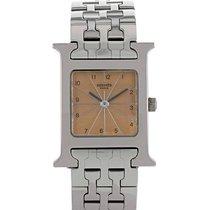 Hermès Damenuhr Heure H Quarz gebraucht Nur Uhr
