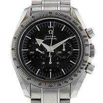 Omega Speedmaster Professional Moonwatch Stahl 42mm Schwarz Keine Ziffern