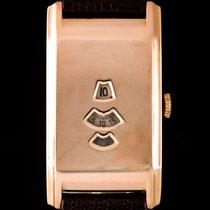 Rolex Rolex Marconi Jump Hour Defectuoso Oro rosa 21.5mm Cuerda manual