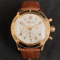Breguet Yellow gold Automatic White Arabic numerals 39mm pre-owned Type XX - XXI - XXII