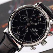 IWC Portofino Chronograph IW391008 IW391002 IWC PORTOFINO Chrono Black Dial AUTOMATIC 2020 new