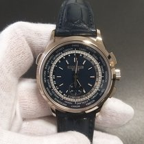 Patek Philippe World Time Chronograph Weißgold
