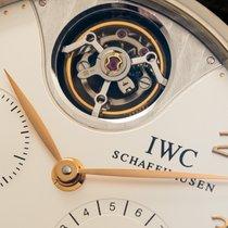 IWC Portuguese Tourbillon Oro blanco 44.2mm Plata Arábigos