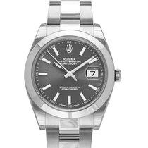Rolex (ロレックス) Datejust 新品 2020 自動巻き 正規のボックスと正規の書類付属の時計 126300