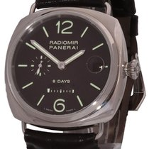 Panerai Radiomir 8 Days Steel 45mm Black Arabic numerals United States of America, Florida, Plantation