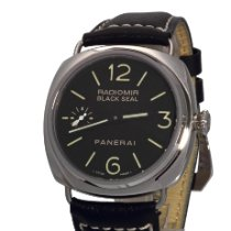 Panerai Radiomir Black Seal new Manual winding Watch with original box and original papers PAM 00183