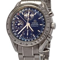 Omega Speedmaster Day Date Steel 39mm Blue No numerals United States of America, Florida, Plantation