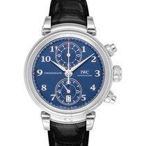 IWC Da Vinci Chronograph новые 2019 Автоподзавод Часы с оригинальными документами и коробкой IW393402