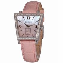 Corum Trapeze Steel 29mm Mother of pearl