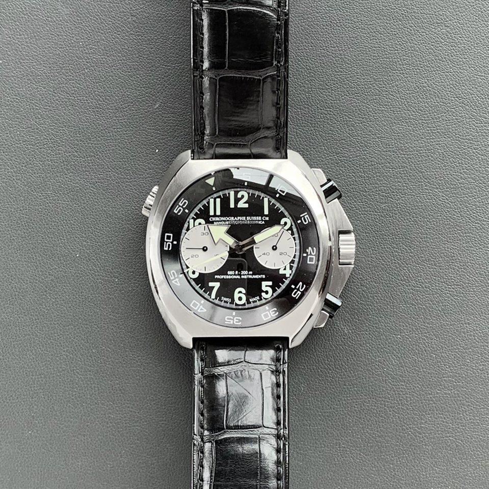 Chronographe Suisse Cie CSC260-000105 подержанные