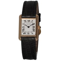 Cartier Tank (submodel) Yellow gold 21mm White Roman numerals United States of America, Florida, Plantation