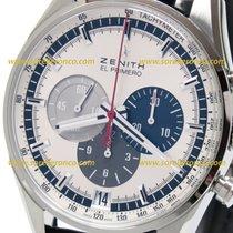 Zenith El Primero 36'000 VpH 03.2040.400/69.C494 Zenith EL PRIMERO 42mm Acciaio-Argento 2020 new
