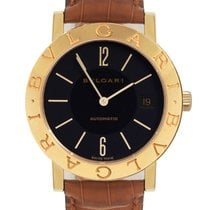 Bulgari BB 33 GL AUTO Yellow gold Bulgari 33mm pre-owned