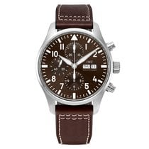 IWC Pilot Chronograph IW377713 New Steel 43mm Automatic