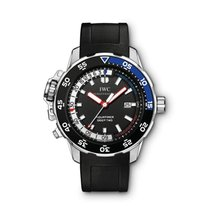 IWC Aquatimer Deep Two nuevo Automático Cronógrafo Reloj con estuche y documentos originales IW354702