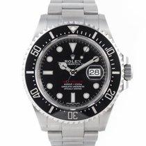 Rolex Sea-Dweller 4000 Zeljezo 43mm Crn Bez brojeva