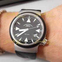 Mühle Glashütte S.A.R. Rescue-Timer nuevo 2020 Automático Reloj con estuche y documentos originales M1-41-03-KB Mühle Glashütte Rescue-Timer S.A.R. Gomma Nero
