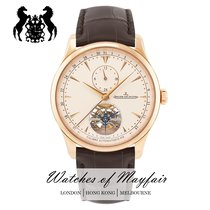 Jaeger-LeCoultre Master Grande Tradition Or rose 43mm Champagne
