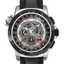 Carl F. Bucherer new Automatic Skeletonized Small seconds 47mm Steel Sapphire crystal