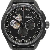 Zenith El Primero Chronomaster Titanium 42mm Black No numerals