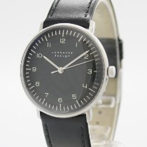 Junghans max bill Hand-winding Steel 34mm Black Arabic numerals