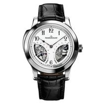 Jaeger-LeCoultre Platinum Manual winding Champagne 43mm pre-owned Master Minute Repeater