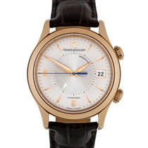 Jaeger-LeCoultre Red gold Automatic Silver 40mm pre-owned Master Memovox