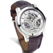 Jaeger-LeCoultre Master Minute Repeater Platin 43mm Silber Arabisch