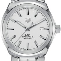 TAG Heuer Link Calibre 5 Steel 41mm Silver