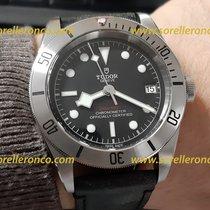 Tudor Black Bay Steel 79730-0005 Tudor Black Bay Acciaio Nero Pelle 41mm 2020 new