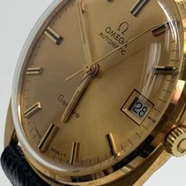 Omega Genève Yellow gold 34mm Gold No numerals United States of America, Florida, MIAMI