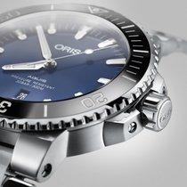 Oris Aquis Date 01 733 7730 4135-07 8 24 05PEB Oris Date Blu Acciaio 43,5mm 2020 new