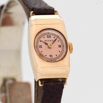 Rolex Prince Rose gold 14mm Black Roman numerals