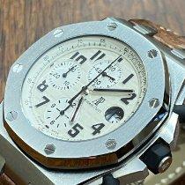 Audemars Piguet Royal Oak Offshore Chronograph Aço 42mm Branco Árabes Portugal, Lisboa