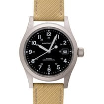 Hamilton Khaki Field Officer Steel 38mm Black