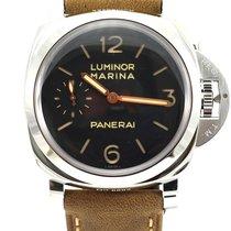 Panerai Luminor Marina 1950 3 Days Сталь 47mm Черный