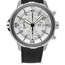 IWC Aquatimer Chronograph nuevo 2021 Automático Cronógrafo Reloj con estuche y documentos originales IW376801